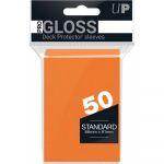 Protèges Cartes Standard  Ultra Pro - Gloss Orange Standard par 50