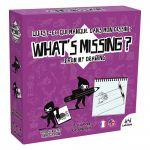 Jeu de devinettes Réflexion What's Missing ? - Edition violette