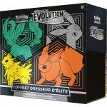 Coffret Pokémon EB07 Épée et Bouclier 7 Évolution Céleste - Dresseur d'Élite : Phyllali, Noctali, Voltali, Pyroli