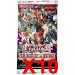 Booster en Français Yu-Gi-Oh! Explosion de la Destinée - Lot de 10