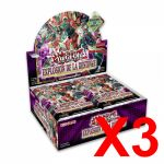 Boite de Boosters Français Yu-Gi-Oh! 24 Boosters - Explosion de la Destinée - Lot de 3