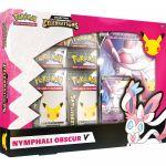 Coffret Pokémon EB7.5 Célébrations 25 Ans - Nymphali Obscur-V