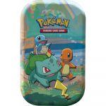 Pokébox Pokémon EB7.5 Célébrations 25 Ans - Mini Tin - Bulbizarre, Salamèche, Carapuce et Pikachu