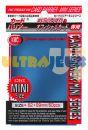 Protèges Cartes Format JAP Accessoires Kmc - Mini Metal Blue ( Bleu ) - par 50