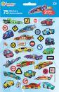 """Autocollants Accessoires Planche De 75 Stickers """"voitures"""""""