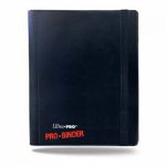Portfolio  Pro-binder - Noir - 160 Cases (20 Pages De 8 Cases)
