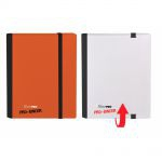 Portfolio  Pro-binder - Bi-couleur - Blanc & Rouge - 160 Cases (20 Pages De 8 Cases)