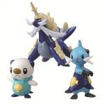 Figurine Pok�mon Pack De 3 Figurine �volution Pokemon Moustillon/mateloutre/clamiral