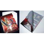 Feuilles de classeur Yu-Gi-Oh! Porte-document Yu-gi-oh Zexal - Yuma Tsukumo Et Numéro 39 : Utopie