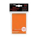 Protèges Cartes Accessoires Sleeves Ultra-pro Standard Par 50 Orange