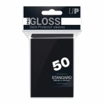 Protèges Cartes Standard  Sleeves Ultra-pro Standard Par 50 Noir