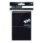 Protèges Cartes Accessoires Sleeves Ultra-pro Standard Par 100 Noir