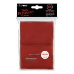 Protèges Cartes Standard  Sleeves Ultra-pro Standard Par 100 Rouge