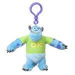 Peluche Monsters University Monstres et Cie Porte-cl� Jacques Sullivan Avec T-shirt - 10 Cm