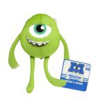 Peluche Monsters University Monstres et Cie Shake & Scare - Bob Razowski - 13 Cm