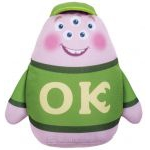 Peluche Monsters University Monstres et Cie Shake & Scare - Squishy - 13 Cm