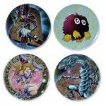 Produits D�riv�s Yu-Gi-Oh! Lot De 4 Pin's  Classic Monsters