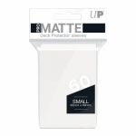 Protèges Cartes Format JAP  Sleeves Ultra-pro Mini Par 60 Blanc Matte