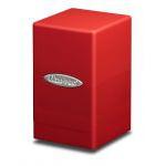 Boites de Rangement Accessoires Satin Tower Deck Box Rouge