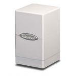 Boites de Rangement Accessoires Satin Tower Deck Box Blanc