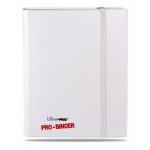 Portfolios Accessoires Pro-binder - Blanc Sur Blanc - 20 Pages Blanches De 18 Cases