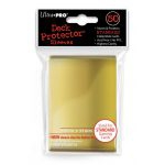 Protèges Cartes Accessoires Sleeves Ultra-pro Standard Par 50 Gold