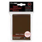 Protèges Cartes Accessoires Sleeves Ultra-Pro - Standard Par 50 Marron
