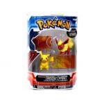 Figurine Pokémon Pokemon X Et Y - Pikachu Vs Pyroli
