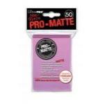 Protèges Cartes Accessoires Sleeves Ultra-pro Standard Par 50 Rose Matte