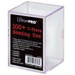 Boites de Rangement Accessoires Deck Box Ultra Pro Rigide Transparent - 100 Cartes