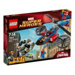Super Heroes LEGO 76016 - Spider-man : Le Sauvetage En Spider-hélicoptère