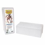 Boites de Rangement Accessoires Bo�te De Rangement Dragon Shield 4 Compartiments - Blanc