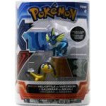 Figurine Pokémon Pokemon X Et Y - Galvaran Vs Aquali