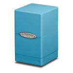 Deck Box  Satin Tower Deck Box Bleu Clair (Light Blue)