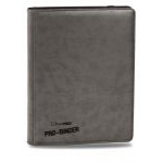 Portfolios Accessoires Premium Pro-binder - Simili Cuir Gris -  360 Cases (20 Pages De 18)