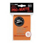 Protèges Cartes Format JAP  Sleeves Ultra-pro Mini Par 60 Orange Matte