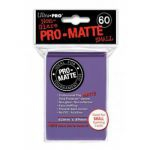 Protèges Cartes Format JAP  Sleeves Ultra-pro Mini Par 60 Violet Matte
