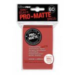 Protèges Cartes Format JAP  Sleeves Ultra-pro Mini Par 60 Rouge Matte