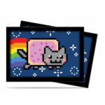 Prot�ges Cartes Format JAP Accessoires Sleeves Ultra-pro Mini Par 60 - Nyan Cat Original