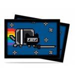 Protèges Cartes Format JAP Accessoires Sleeves Ultra-pro Mini Par 60 - Nyan Cat Nyaninja