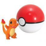 Figurine Pokémon Clip'n Carry Poké Ball  - Salamèche + Poké Ball