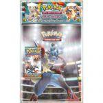 Portfolios Pokémon Xy - Poings Furieux - Méga Lucario Et Méga Scarhino (10 Pages De 9 Cases) + 1 Booster Poings Furieux