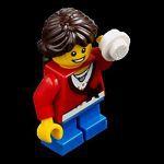 Minifigures City LEGO Minifigures Lego City 2012 - 16 - Fille Avec Une Boule De Neige