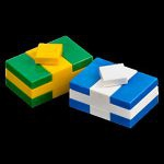 LEGO City LEGO Minifigures Lego City 2012 - 23 - Lot De Deux Cadeaux