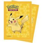 Protèges Cartes Pokémon Deck Protector Ultra Pro - Dp Pikachu Jaune Par 65