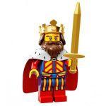 Minifigures LEGO Minifigures S�rie 13 - 1 - Le Roi Du Moyen-�ge