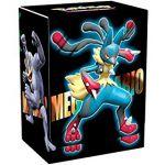 Boites de Rangement Pokémon Deck Box Pokemon - Mega Lucario, Démétéros, Mega Mackogneur Et Brutalibré