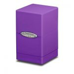 Deck Box  Satin Tower Deck Box Violet