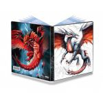 Portfolios Accessoires Accessoires Illustr� ( 10 Pages De 4 Cases ) - Black & Demon Dragon - Mauricio Herrera