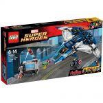 Super Heroes LEGO 76032 - La Poursuite Du Quinjet Des Avengers